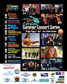 Summer Concerts on Catalina Island