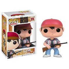 Funko Fanko POP Television Walking Dead: Glenn Vinyl Figure figures die cast doll ( parallel import  @ niftywarehouse.com