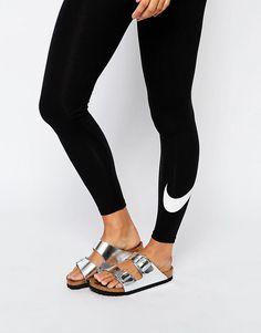 Bild 3 von Nike – Club – Leggings mit Swoosh-Logo