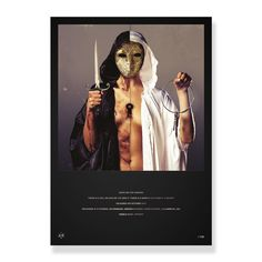 Bring Me The Horizon - Limited Edition There Is A Hell. Foil Print - Posters - Horizon Supply Co. Poster Prints, Posters, Bring Me The Horizon, Artwork, Collection, Work Of Art, Auguste Rodin Artwork, Poster, Artworks