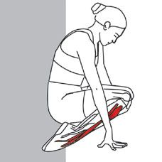 TECHNIQUE  Sit with your knees and feet flat on the ground. Sit back on your…