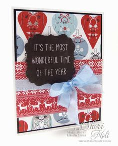 The Stamp Simply Ribbon Store - CAS Christmas - designed by Sheri Holt Christmas Design, Simple Christmas, Handmade Christmas, Christmas Cards, Ribbon Store, Thing 1 Thing 2, Projects To Try, Stamp, North Pole