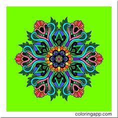 #mandalacoloringbook @coloringapp #coloringapp #coloringbookforadults #coloringforadults