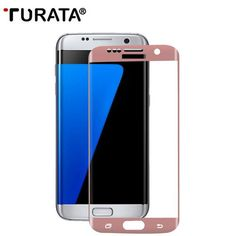 Turata 9H Tempered Glass Screen Protector For Samsung Galaxy S7 Edge S8