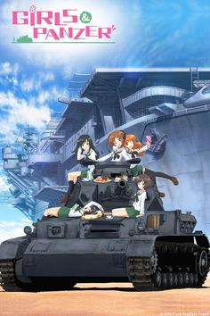 Crunchyroll - GIRLS und PANZER Full episodes streaming online for free