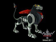 Black Voltron Lion