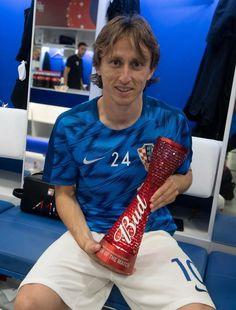 MODRIC.....'Man of the Match' 2-in-a-row!!⚡⚡❤ #Croatia {Matchday2}   FIFA World Cup [Russia] 2018