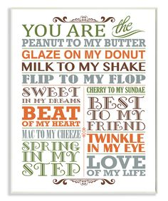 Love this 'You Are the Peanut' Wall Art by Stupell Industries on #zulily! #zulilyfinds