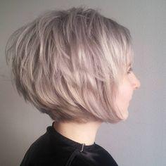 10 Kurz Edgy Frisuren für Frauen