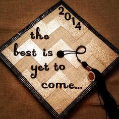 Graduation Cap Decorating How-To | Miss Welden