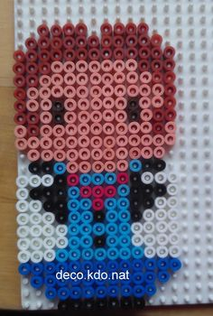 Chibi Hans - Frozen hama beads by Deco.Kdo.Nat