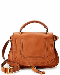"Chloe ""Marcie"" Medium Leather Stachel"