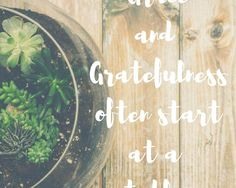 When grace reminds you to be grateful…