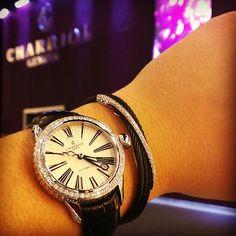 lindazinha's photo Charriol, Michael Kors Watch, Rolex Watches, Accessories, Fashion, History, Clock, Moda, La Mode