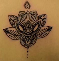 #mandala lotus flower #tattoo