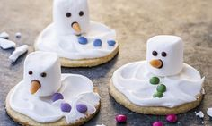 PLUS Boston cream pies cookies cups ! Fondue, Christmas Love, Pudding, Sugar, Desserts, Advent, Butter, Melted Snowman, Sugar Cookies