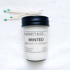 BLACKETT & CO. brighten up any space with this sweet and minty blend of peppermint and wintergreen 🌿