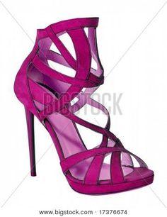 Pretty in pink shoe.