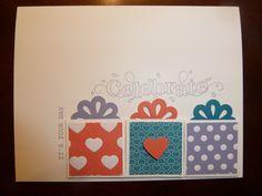 stampin up birthday card ideas | Birthday Card - Stampin' Up stamps | Card Ideas
