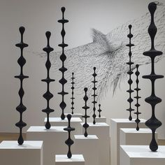 Kohei Nawa Force Exhibition at Pace Gallery London 2015