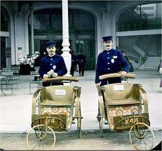 Les voituriers (Exposition Universelle Paris 1900)