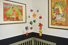 Oscar's Most Sensational Inspirational Celebrational Muppets-Themed Nursery My Room   I love these posters