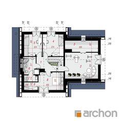 Dom w miłowonkach Design Case, Home Decor Kitchen, Floor Plans, House 2, Home, Floor Plan Drawing, House Floor Plans