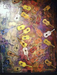 Strings, guitar art