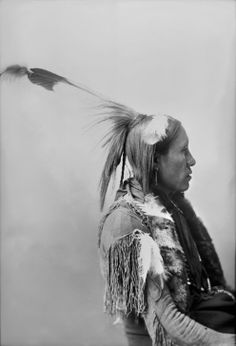 Comanche Man, 1898.