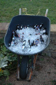Great beer cooler idea
