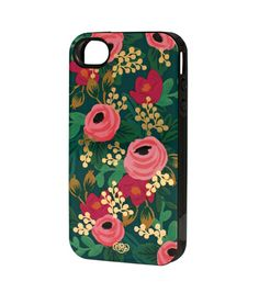 Rosa iPhone 4 Case - INLAY  Probably can be found at Paper White, downtown Petaluma, or Paper Source, Corte Madera