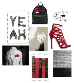 """""""Y E A H"""" by cooljewelrydesign ❤ liked on Polyvore featuring art and modern"""