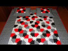 Manta/colcha em patchwork Munique - Maria Adna Ateliê - Cursos e aulas de patchwork - YouTube