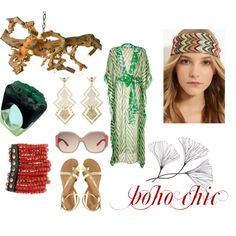 boho chic, created by hidden-fashionista.polyvore.com