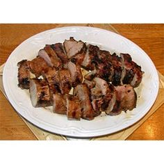 This is a great marinade for any meat. I especially like it on pork roasts, but it can easily be used on chicken or ribs.