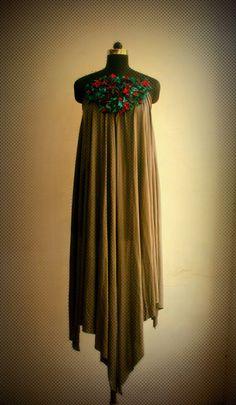 Apparel & Textile :: Dress :: Front Accent Pao Bhaji Dress - Anuj Sharma - Tadpolestore.com