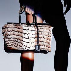 fdfa3b10ff Exotic Small India Bag with detachable calf leather shoulder strap.  tmfrd.co SmallIndia