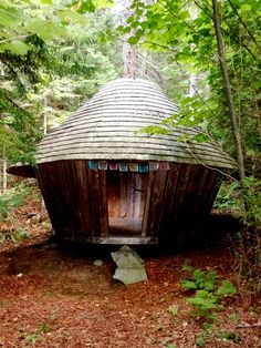 Little Yurt in the Woods