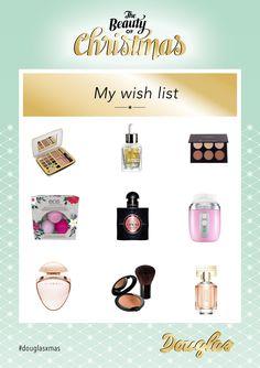 Beauty-Wunschliste für Weihnachten.  Beauty Wishlist for XMAS.  #douglas #douglasxmas