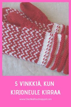 Craft Projects, Craft Ideas, Mittens, Diy And Crafts, Embroidery, Knitting, Crochet, Fair Isles, Easy