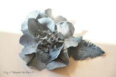denim flowers :: a DIY by // Between the Lines //