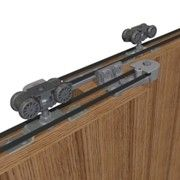 for wooden sliding telescopic doors weighing up to 80kg
