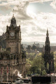 citylandscapes:  Edinburgh, Scotland