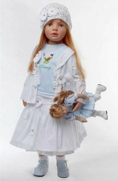 Solveig    Artist:  Hildegard Gunzel...beautiful doll...