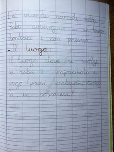 Quaderno di italiano classe 2^ La fiaba Sheet Music, Education, 3, Blog, Hue, Lab, Blogging, Onderwijs, Learning