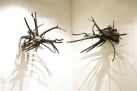Untitled (bronze sculpture in two parts) by Anita Dube