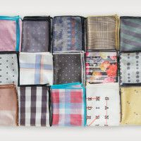 Microfiber Pocket Squares by Declan | Cool Material