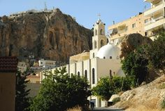SANA/Via EPA - A undated handout picture shows a church in the Maaloula village, northeast of Damascus, Syria. Fighters from Free Syrian Army units briefly gained control of ancient Christian Maaloula village, accounting to reports.