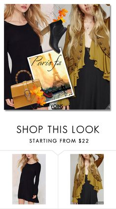 """I Love Paris In the Fall"" by svijetlana ❤ liked on Polyvore featuring Bastien"