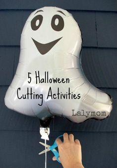 5 Silly Halloween Fine Motor Cutting Practice Activities that kids will enjoy this Halloween. Encouraging fine motor skills is very important for preschoolers and toddlers. These activities are super fun so kids get excited about participating. Cutting Activities, Fine Motor Activities For Kids, Activities For Adults, Preschool Activities, Dementia Activities, Physical Activities, Halloween Theme Preschool, Halloween Activities For Kids, Halloween Fun